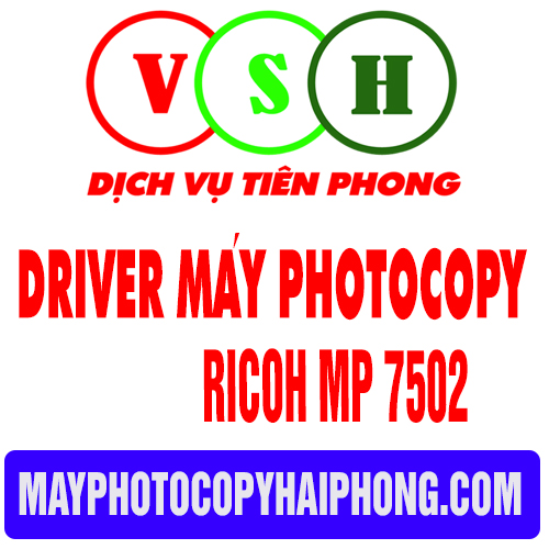 Driver ricoh MP 7502